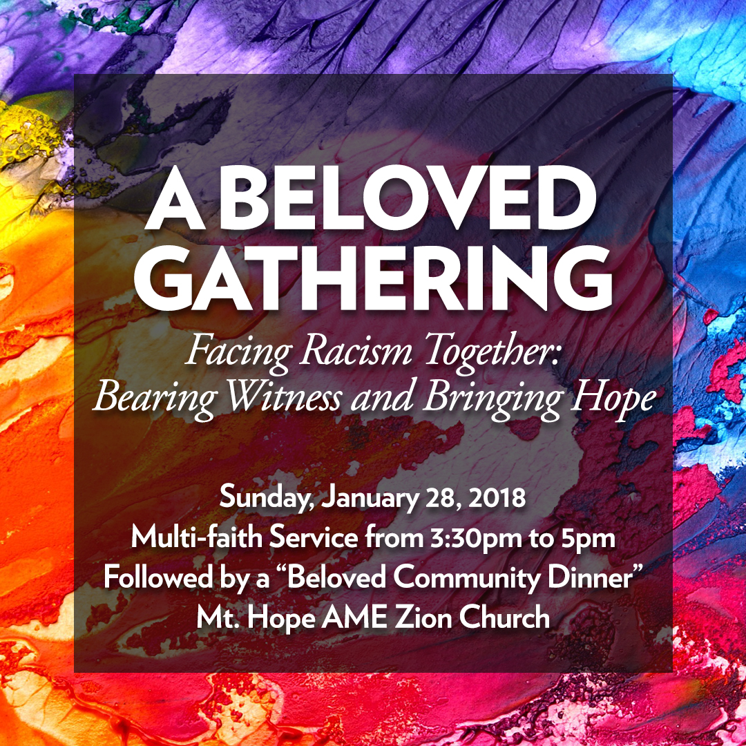 Facing Racism Together, Bearing Witness, and Building Hope, WJC Asks: Now What Do We Do?