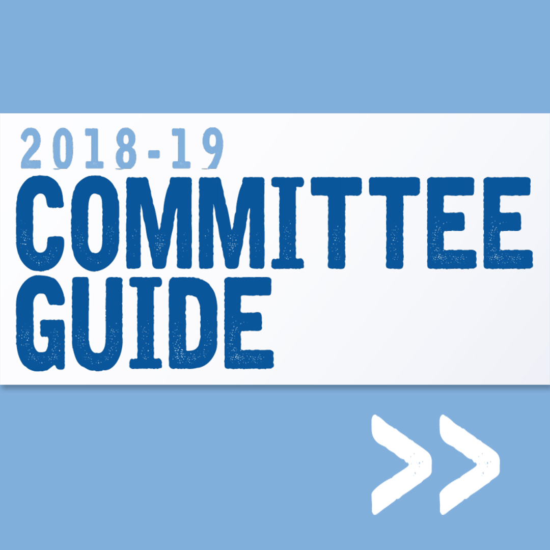 2018-19 Committee Guide Available Online