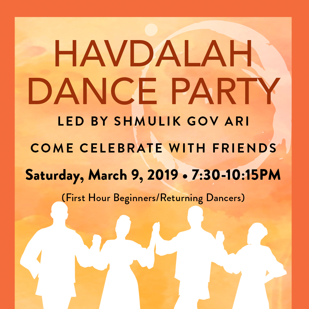 It's a Havdalah Dance Party