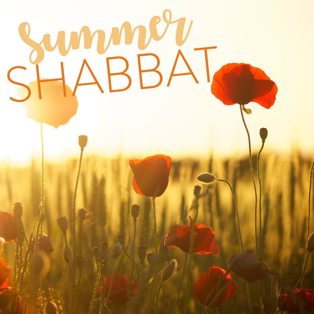 Summer: Sun, Sandals, and Shabbat Services