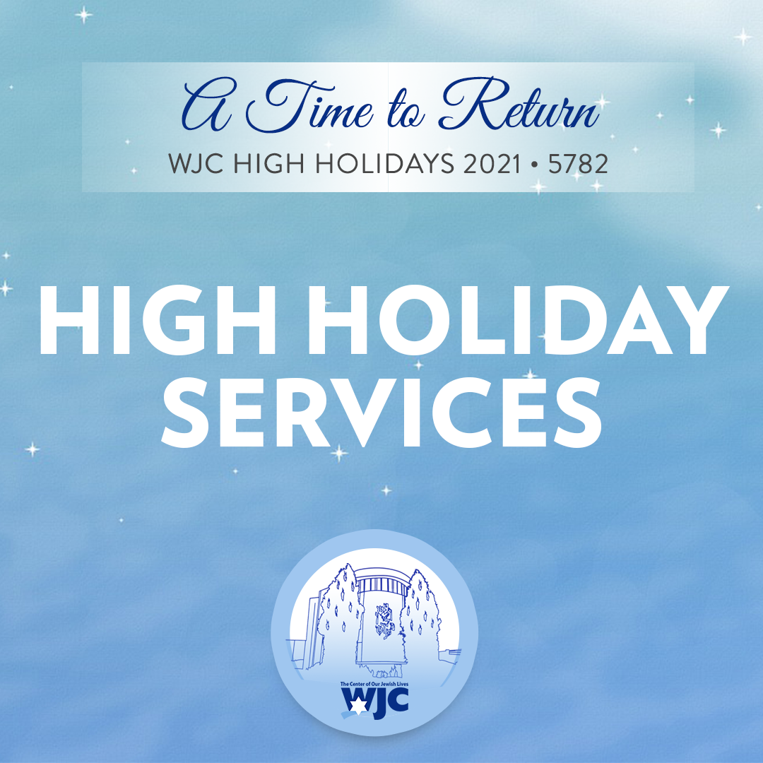 2021 High Holiday Services