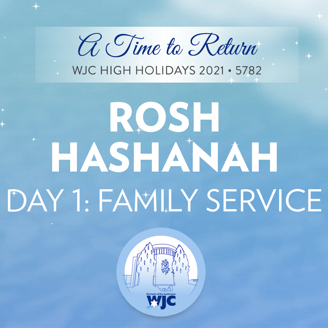 (Video) WJC High Holiday Family Service Preview