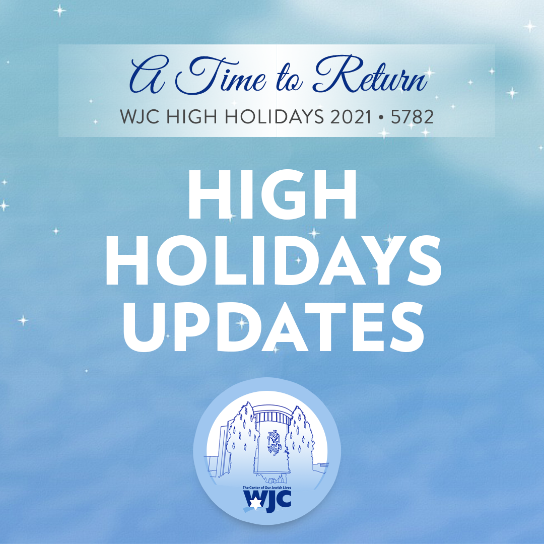 High Holiday COVID Update